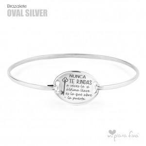 Pulsera OVALADA Silver