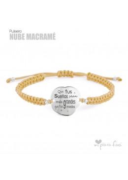 """NUBE"" macramé"
