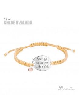 """CHLOE"" oval"
