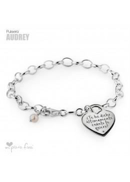 Pulsera Corazón Audrey