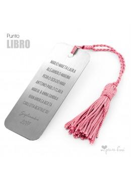 PUNTO DE LIBRO PERSONALIZADO REGALO CUMPLEAÑOS