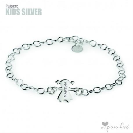 c3bdea98e30e Pulsera KIDS Silver DÍA DE LA MADRE