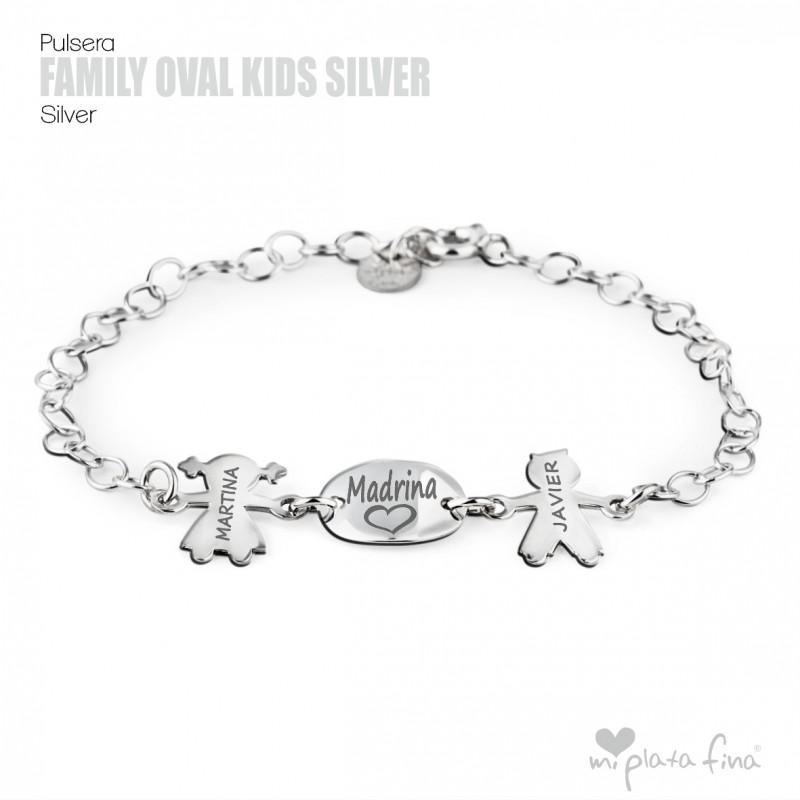 5eea9963989b Pulsera Silueta Niños Grabada | Regalos Personalizados para Mamás