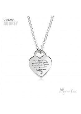 """Corazón """"AUDREY"""""""