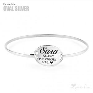 Brazalete Oval Silver FÍN DE CURSO