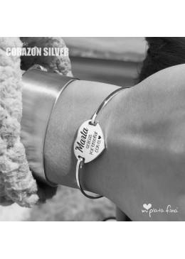 Pulsera CORAZÓN Silver