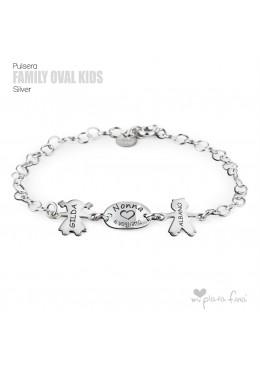 braccialetto d'argento per la nonna