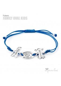 Silver bracelet for Grandma