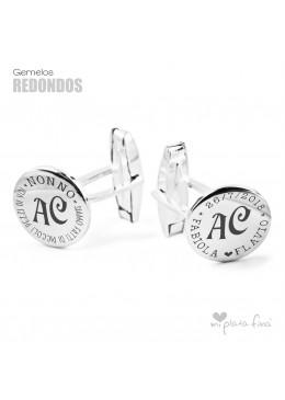 Gemelli in argento gioiello originale per Nonno