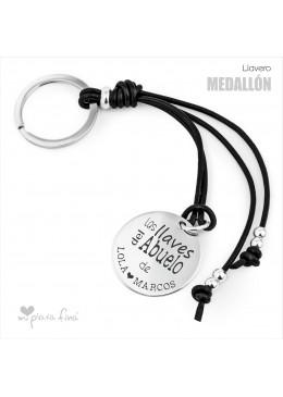 Llavero Medallón diseño original para los Abuelos