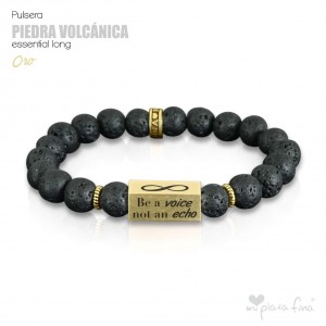 PIEDRA VOLCÁNICA Essential Long ORO