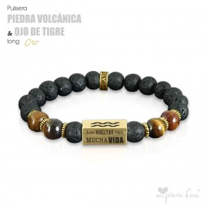 VOLCANIC GEMSTONE vs TIGER'S EYE Long