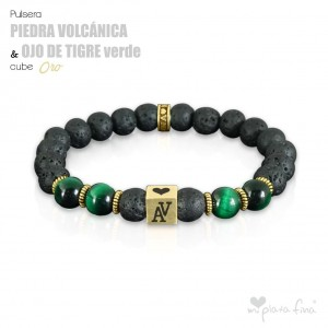 VOLCANIC GEMSTONE vs TIGER'S EYE GREEN
