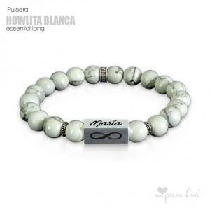 Pulsera HOWLITA BLANCA Essential Long