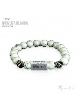 Pulsera HOWLITA BLANCA Royal Long