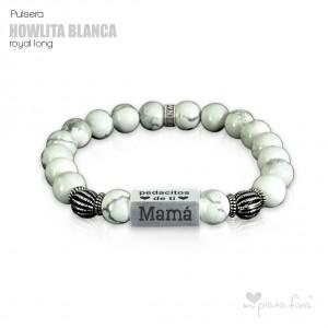 Pulsera HOWLITA BLANCA Royal Long