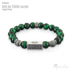 TIGER'S EYE GREEN Royal Long