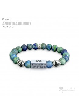Pulsera AZURITA MATE Royal Long