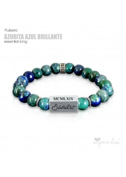 Pulsera AZURITA BRILLO Essential Long