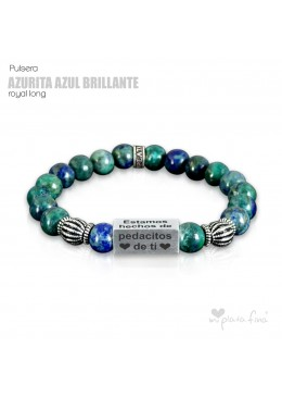 Pulsera AZURITA BRILLO Royal Long