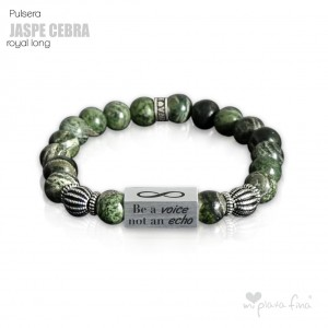 Pulsera JASPE CEBRA Royal Long