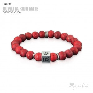 HOWLITE RED MAT Essential Cube