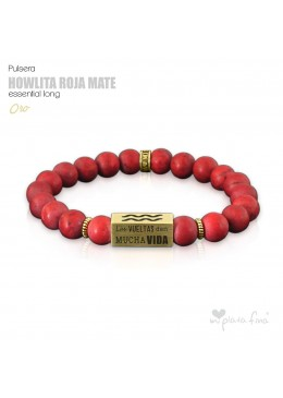 HOWLITA ROJO MATE Essential Long ORO