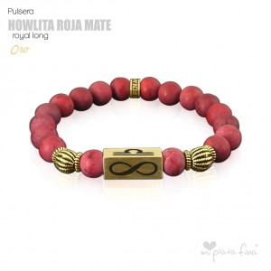 HOWLITA ROJA MATE Royal Long ORO