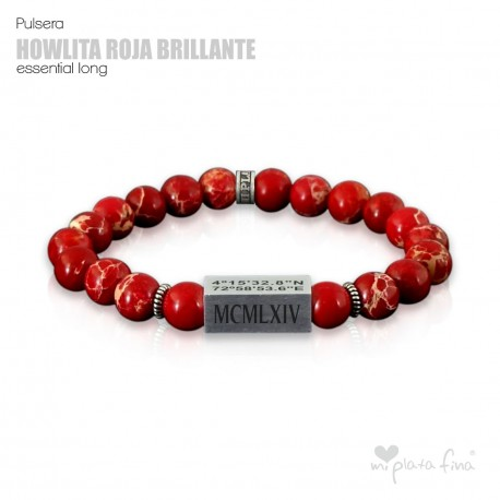 HOWLITE RED BRIGHT Essential Long