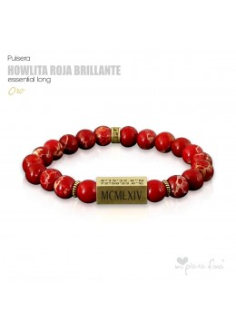 HOWLITA ROJA BRILLO Essential Long ORO