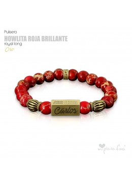 HOWLITA ROJA BRILLO Royal Long ORO