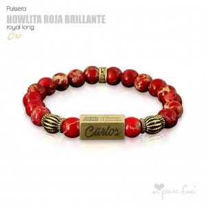 HOWLITE RED BRIGHT Royal Long