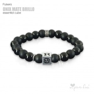 Pulsera ONIX BRILLO-MATE Essential Cube