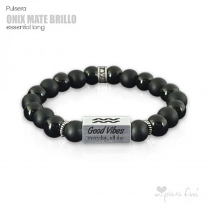 Pulsera ONIX BRILLO-MATE Essential Long