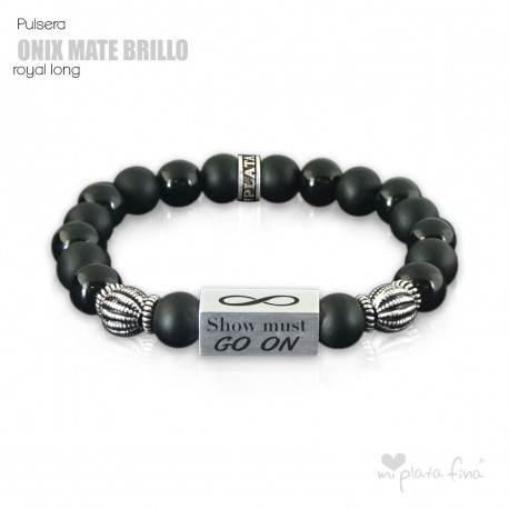 Pulsera ONIX BRILLO-MATE Royal Long