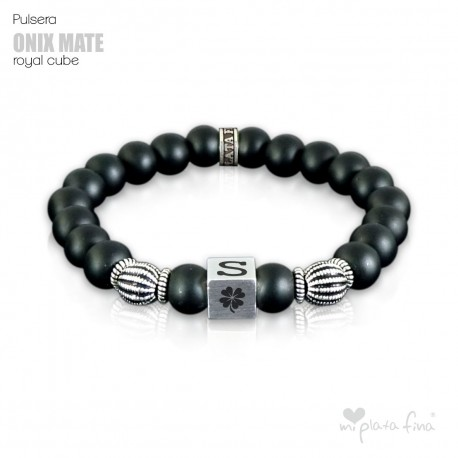 Pulsera ONIX MATE Royal Cube