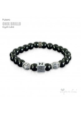 Pulsera ONIX BRILLO Royal Cube