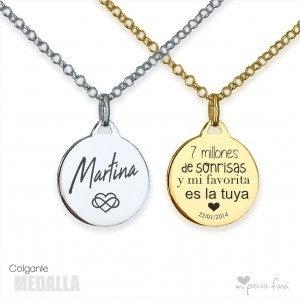Necklace Silver MEDALLA
