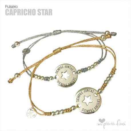 Bracelet Silver CAPRICHOS STAR