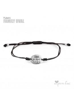 Bracelet Oval Family