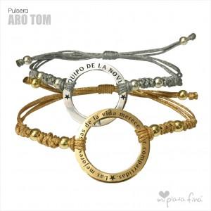 Bracelet Silver Aro Tom