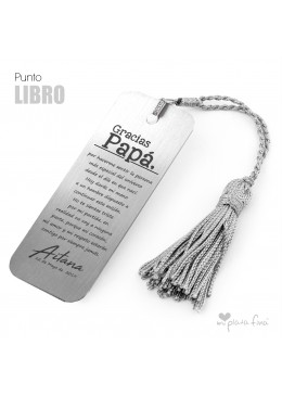 Bookmark Solid Silver