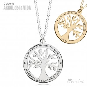 Necklace Silver TREE OF LIFE
