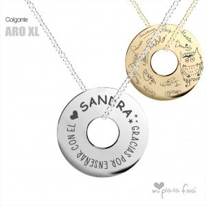 Necklace Silver ARO XL