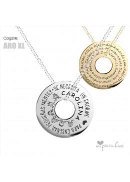 Necklace Silver ARO XL