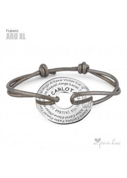 "Pulsera ARO XL ""Regalo COMPARTIDO"""