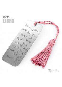 PUNTO DE LIBRO PERSONALIZADO FIRMAS ALUMNOS