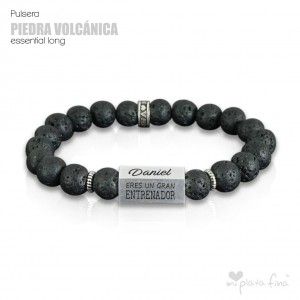 Pulsera PIEDRA VOLCÁNICA Essential Long