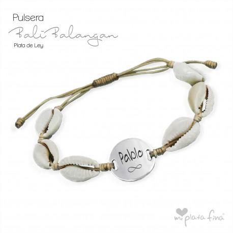 Pulsera BALI BALANGAN plata