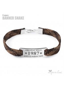 Pulsera Banner Snake